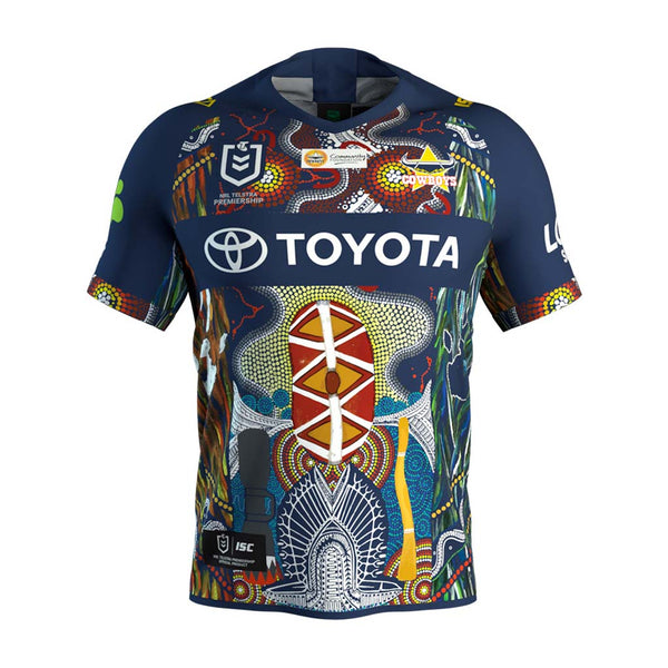 93a0508d39f North Queensland Cowboys 2019 Indigenous Jersey - Jerseys Megastore