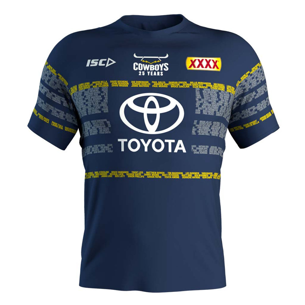 Load image into Gallery viewer, North Queensland Cowboys 2020 Run Out Tee