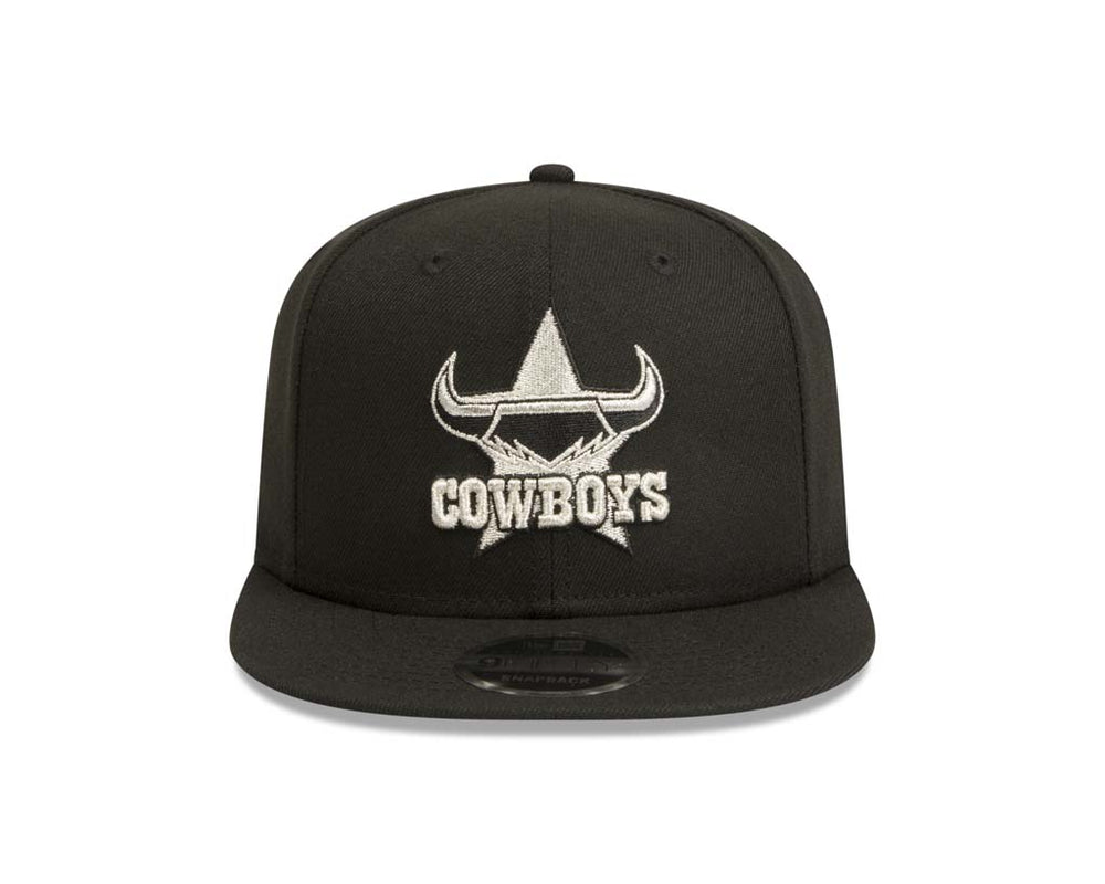 North Queensland Cowboys New Era 9Fifty Silver Black Cap