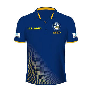 Load image into Gallery viewer, Parramatta Eels 2019 Sublimated Polo - Ladies