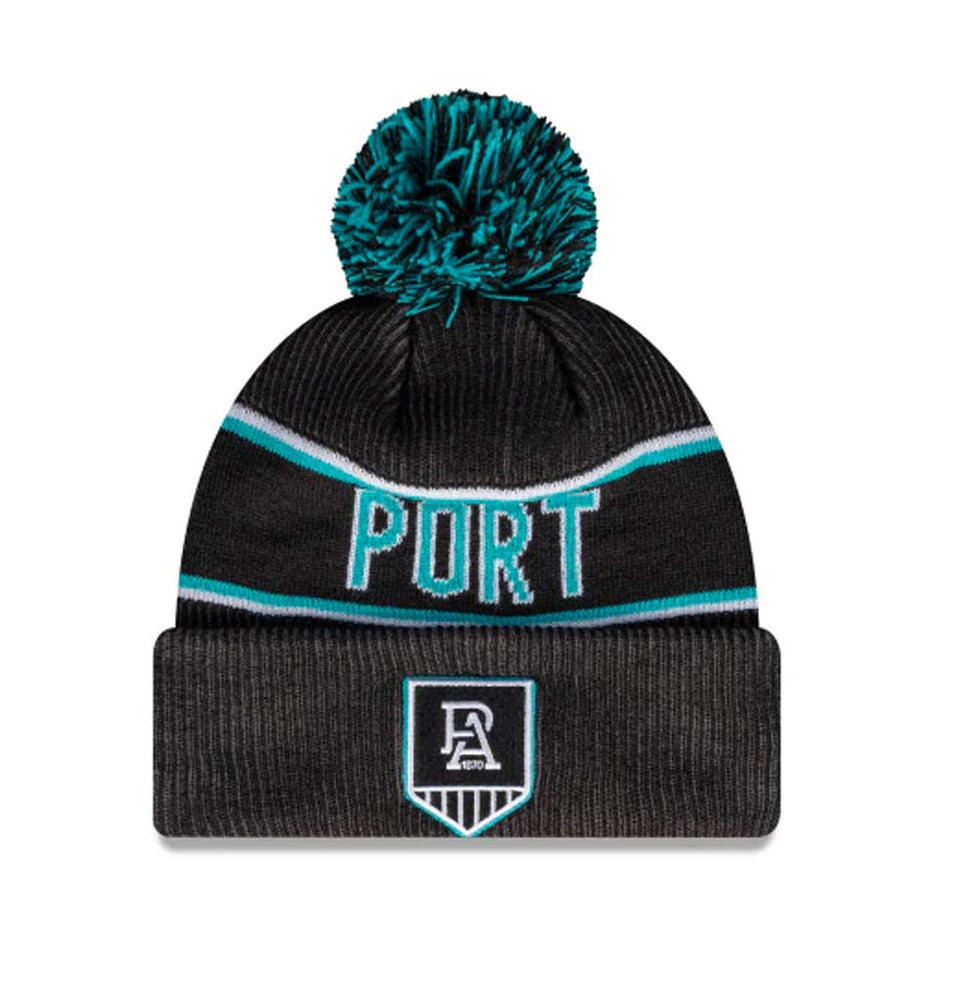 Port Adelaide Power Official Team Colours Beanie