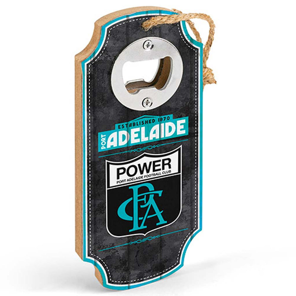 Load image into Gallery viewer, Port Adelaide Power Heritage Bottle Opener