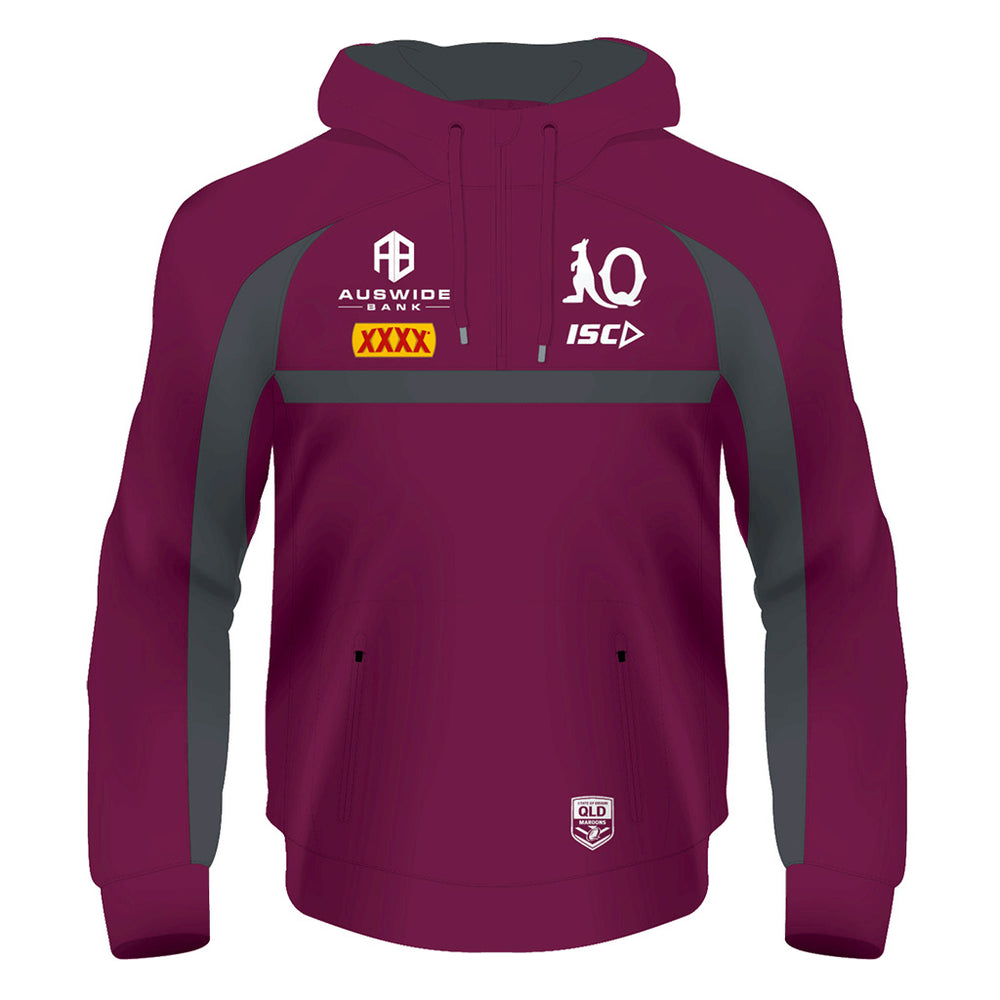 Load image into Gallery viewer, Queensland Maroons 2020 Squad Hoodie - Youth