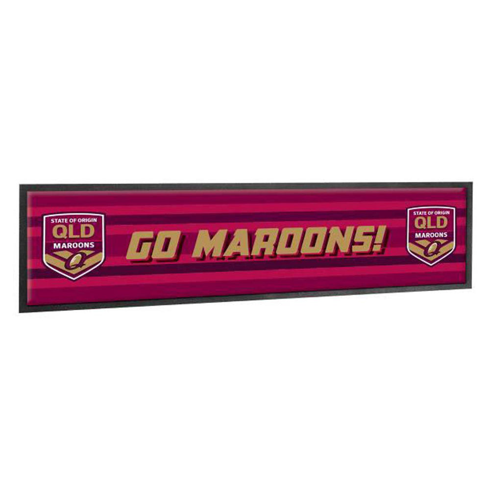 Queensland Maroons Bar Runner