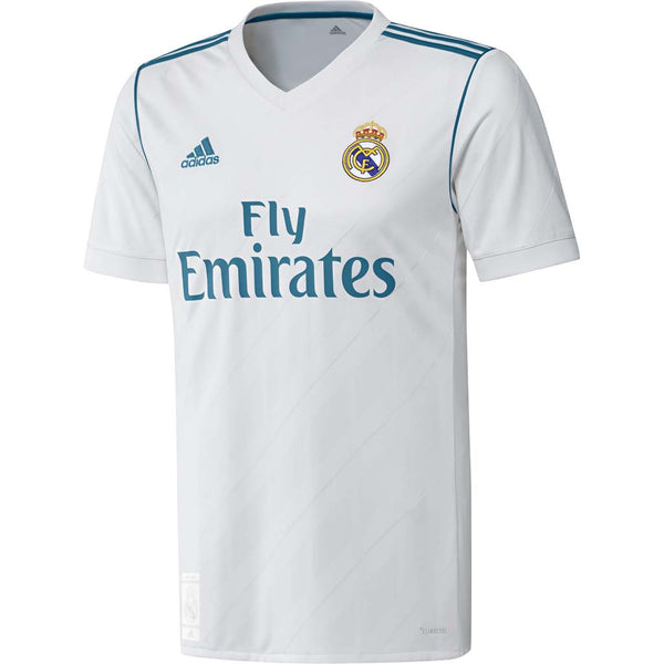 bee5cd14a55ff Real Madrid 2017/18 Home Jersey - Youth - Jerseys Megastore