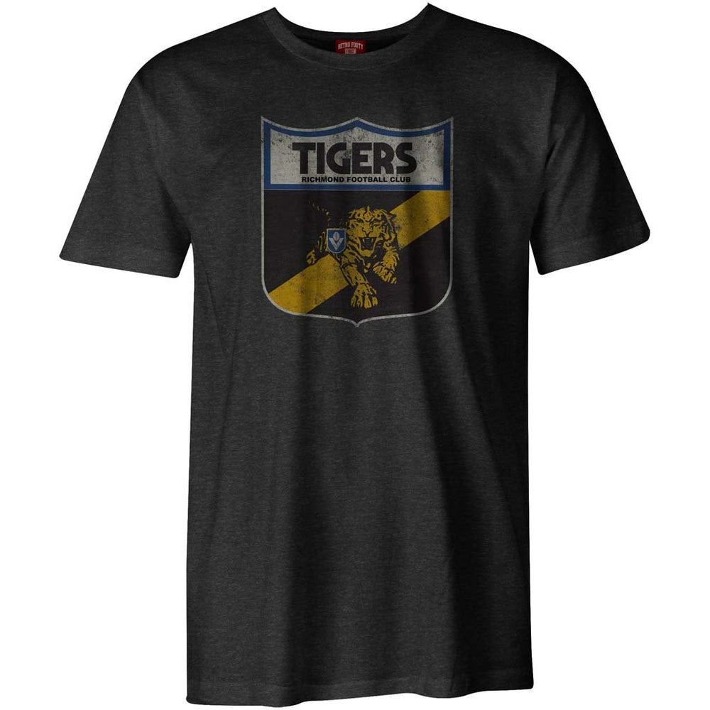 Richmond Tigers Retro Shield Tee