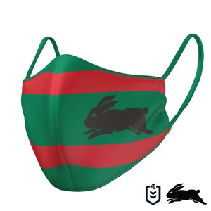 South Sydney Rabbitohs Face Mask