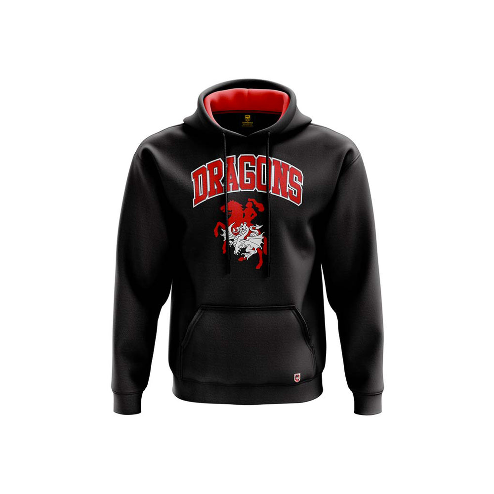 St George Dragons 2019 Club Fleece Hoodie - Youth