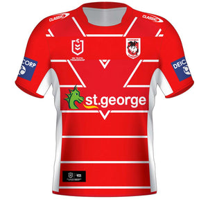 St George Dragons 2021 Alternate Jersey - Youth
