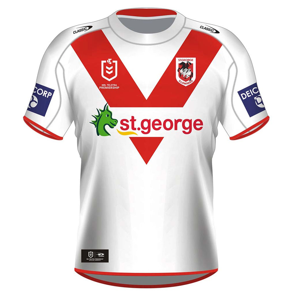 St George Dragons 2021 Home Jersey - Youth