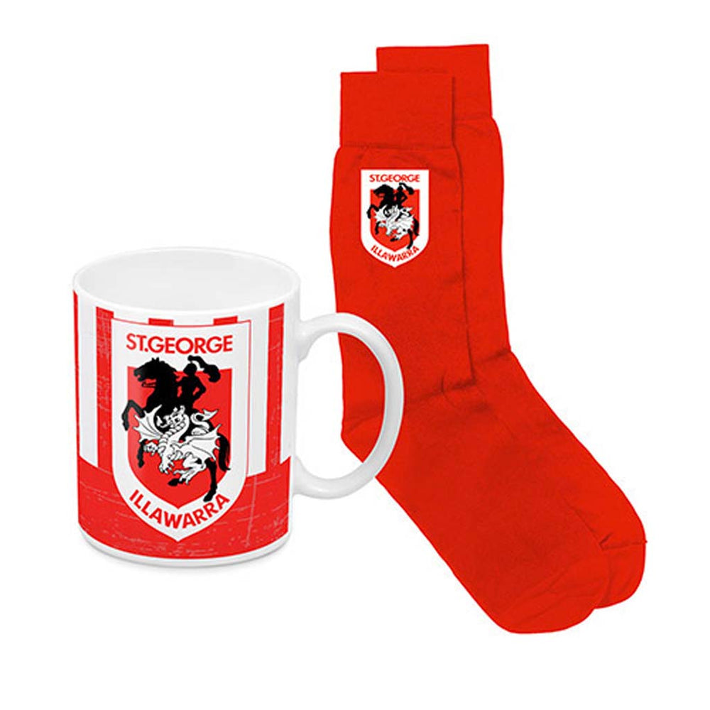 St George Dragons Heritage Mug and Socks Pack