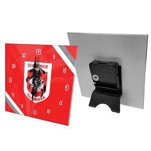 St George Dragons Clock With Stand