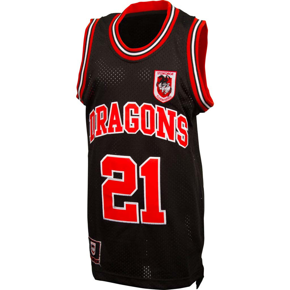 St George Dragons Basketball Singlet - Youth