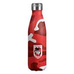 St George Dragons Stainless Steel Wrap Bottle