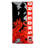 St George Dragons Beach Towel