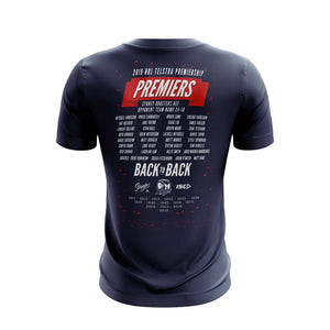 Load image into Gallery viewer, Sydney Roosters 2019 ISC Premiers Tee - Youth
