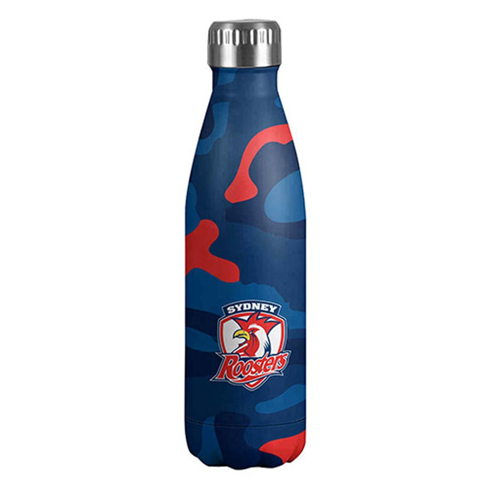 Sydney Roosters Stainless Steel Wrap Bottle