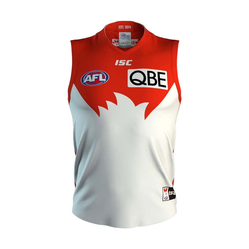Sydney Swans 2018 Home Guernsey
