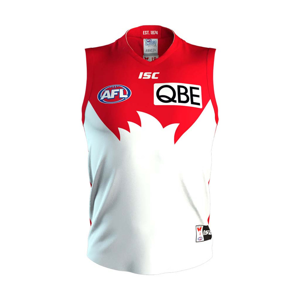 Sydney Swans 2019 Home Guernsey