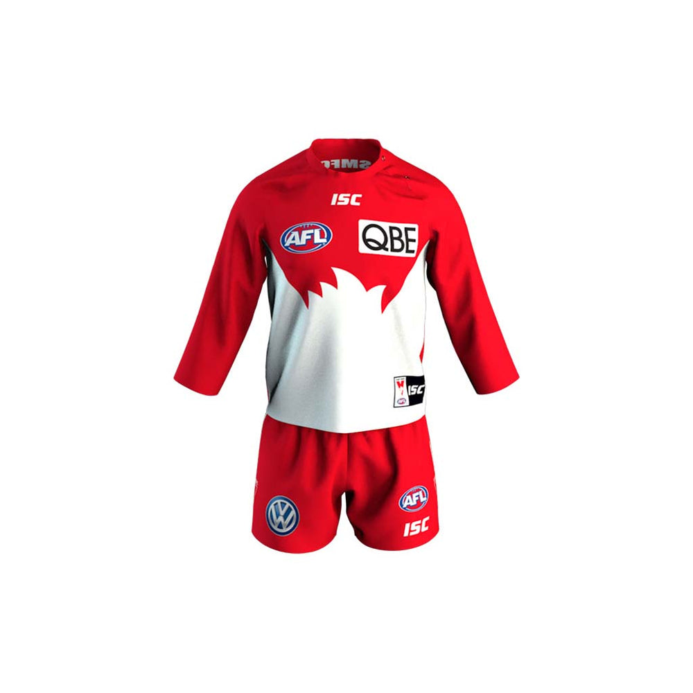 Sydney Swans 2019 Toddlers Home Guernsey Set