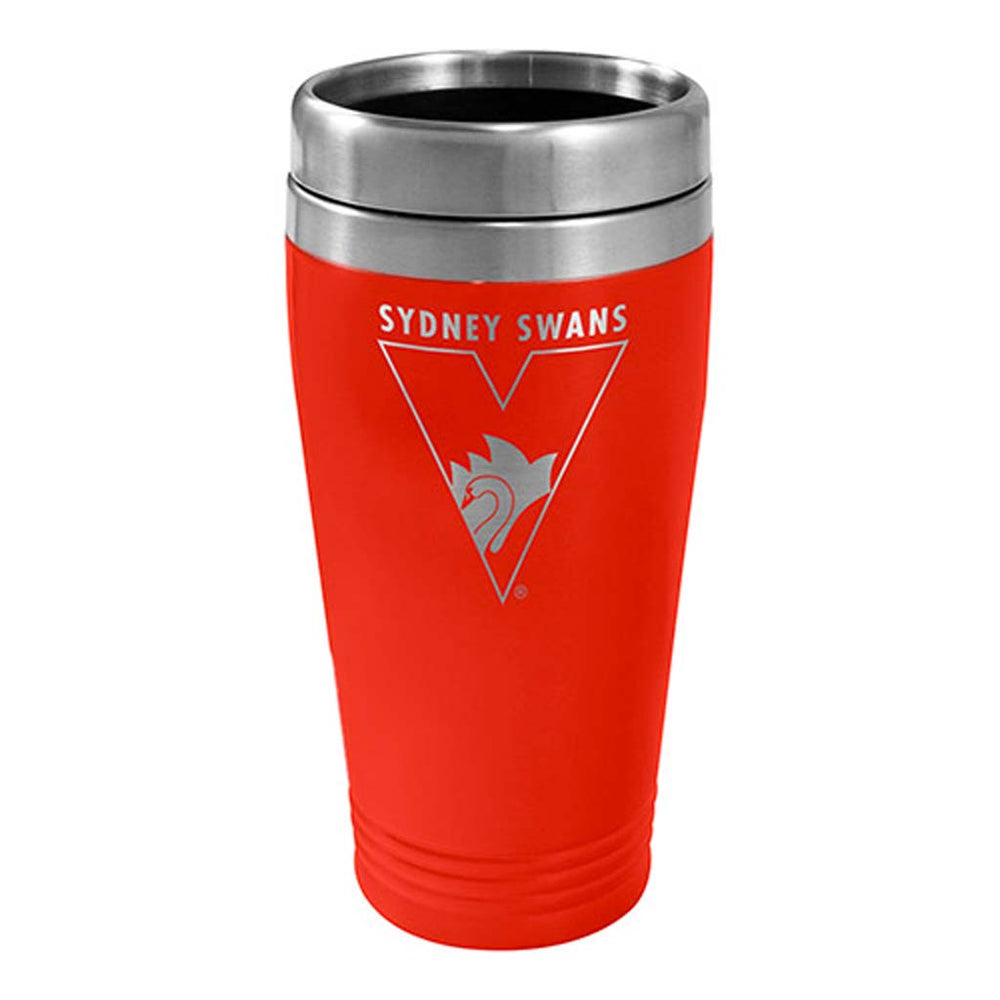 Load image into Gallery viewer, Sydney Swans Stainless Steel Travel Mug