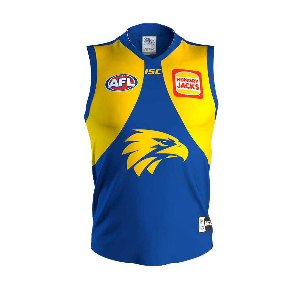 West Coast Eagles 2020 Home Guernsey