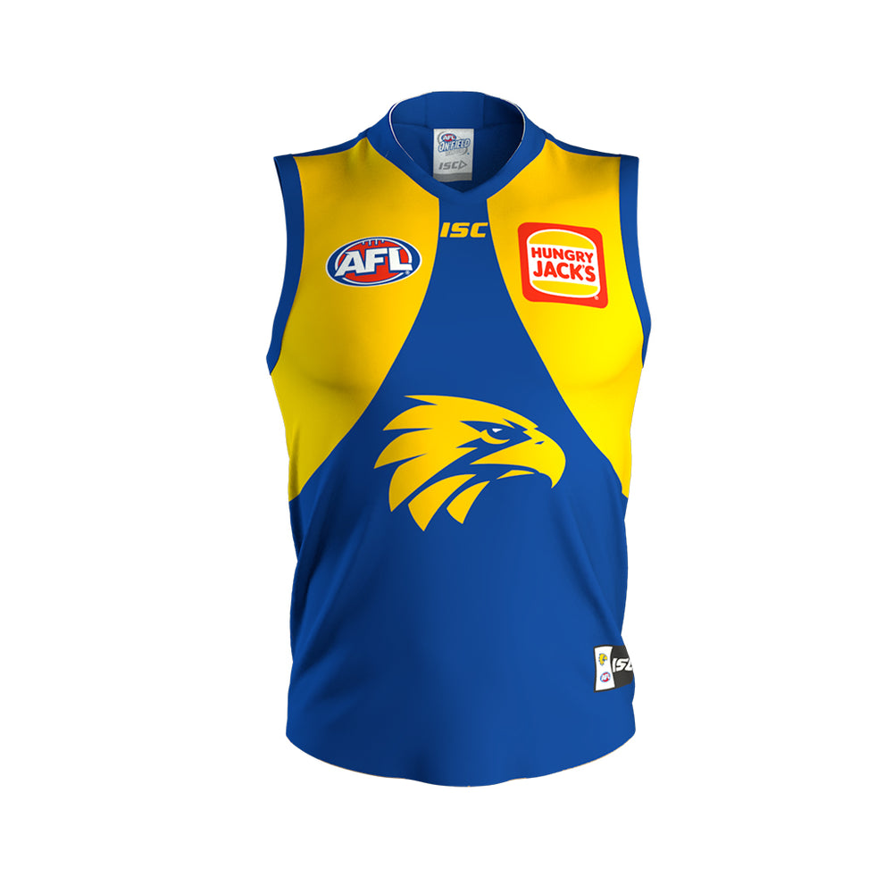 West Coast Eagles 2020 Home Guernsey - Youth