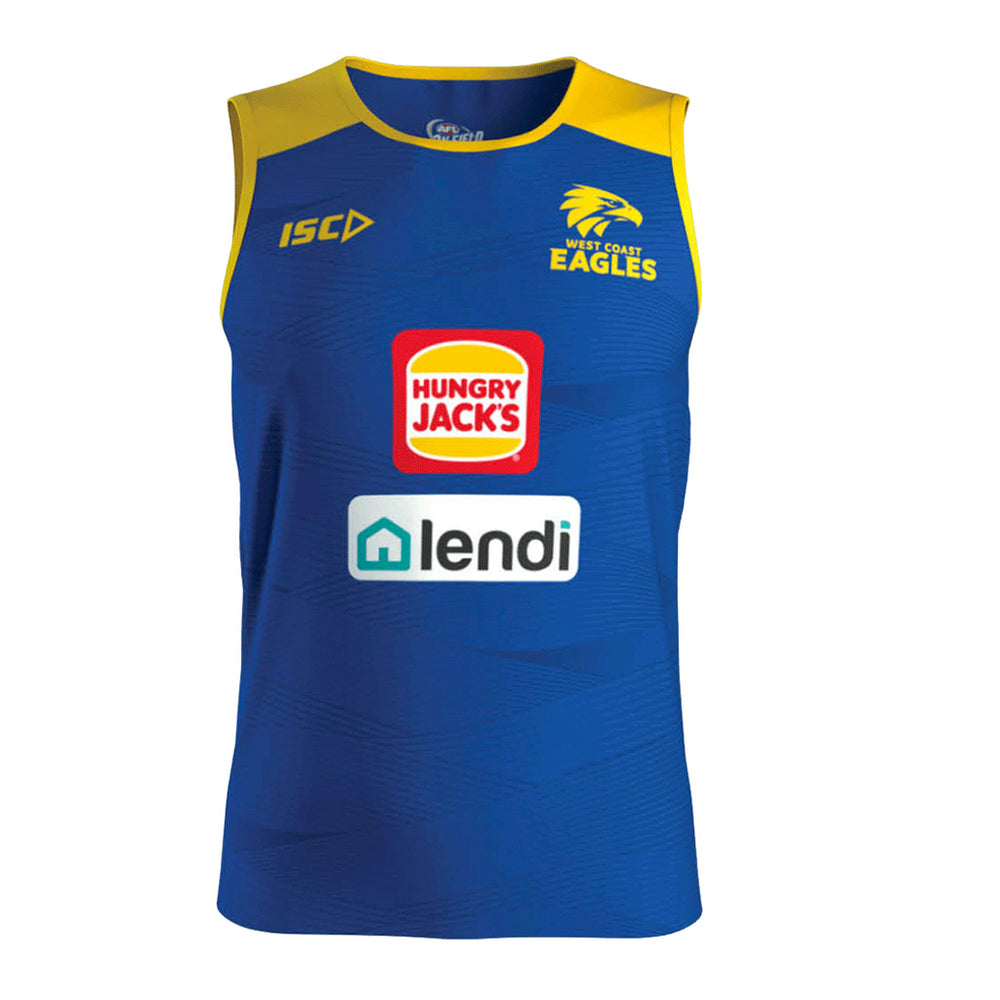 West Coast Eagles 2020 Training Singlet