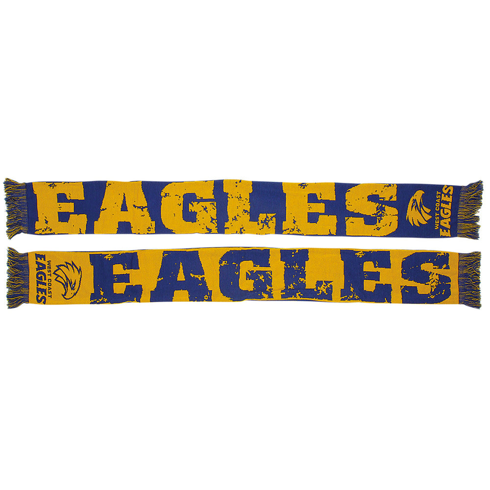 West Coast Eagles Impact Jacquard Scarf