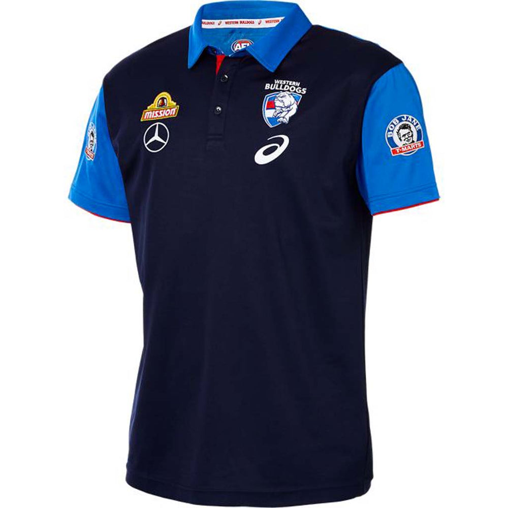 Western Bulldogs 2019 Media Polo