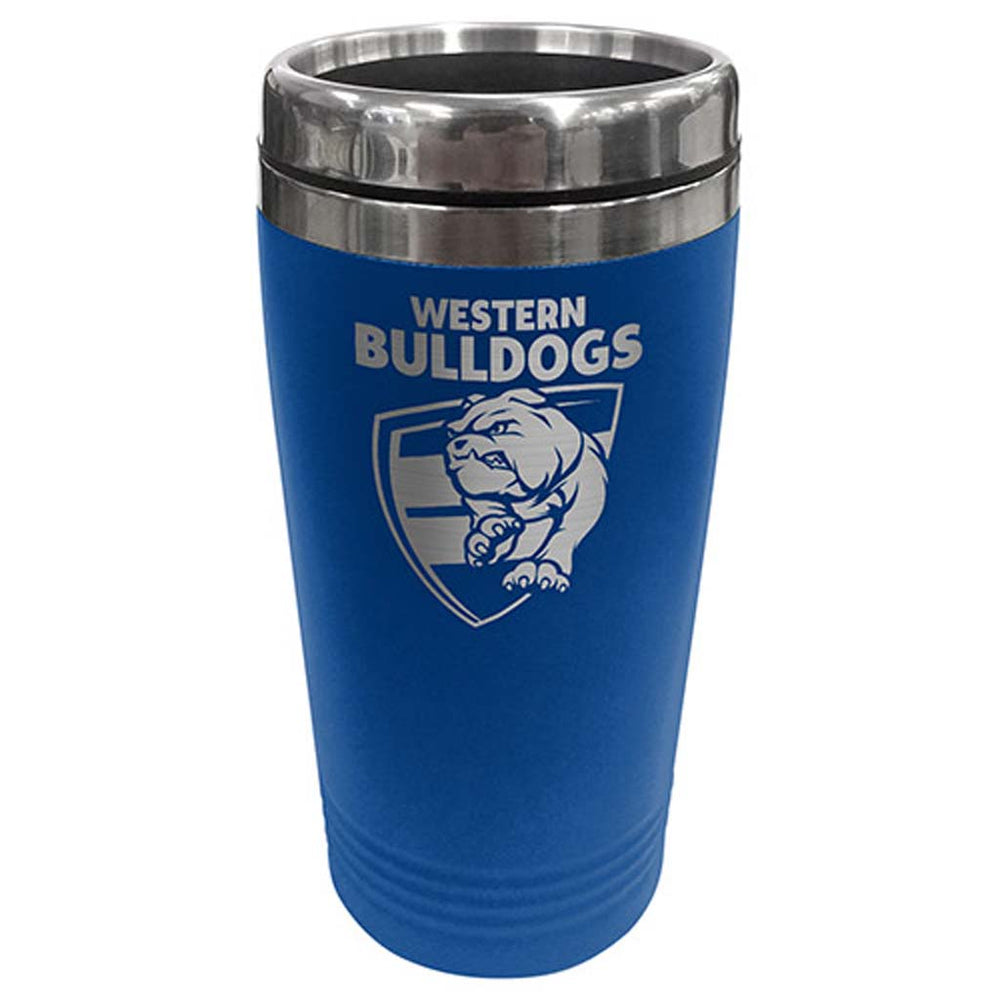 Western Bulldogs Stainless Steel Travel Mug