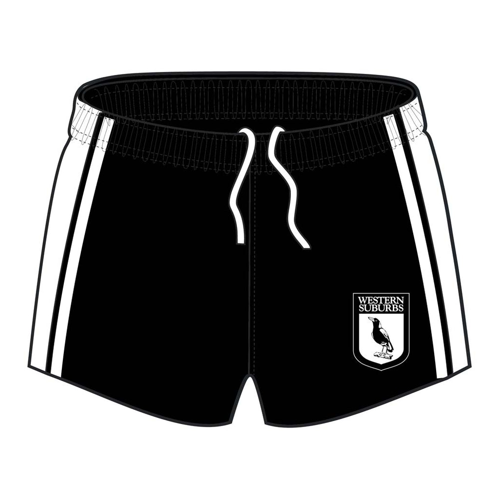 Western Suburbs Magpies Retro Supporter Shorts