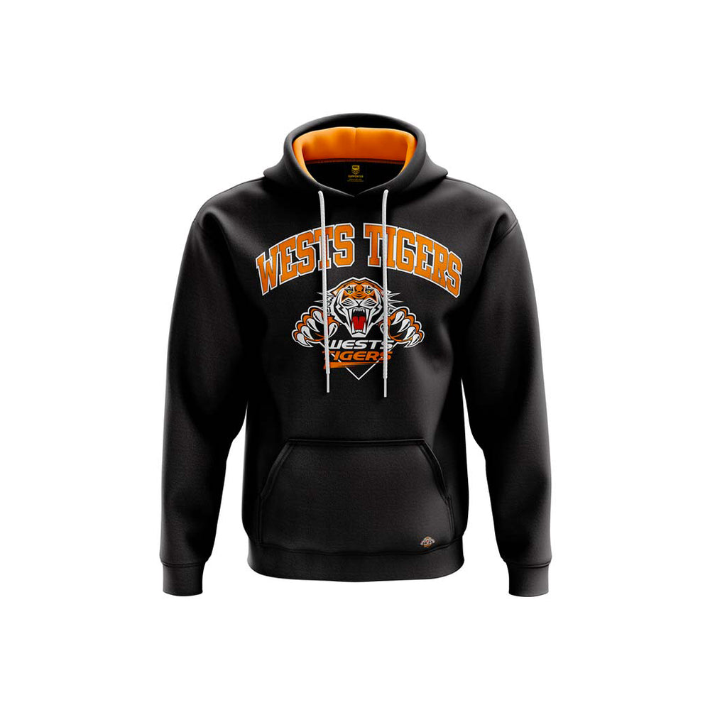 Wests Tigers 2019 Club Fleece Hoodie - Youth