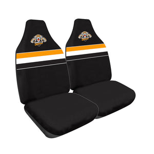 Wests Tigers Car Seat Covers