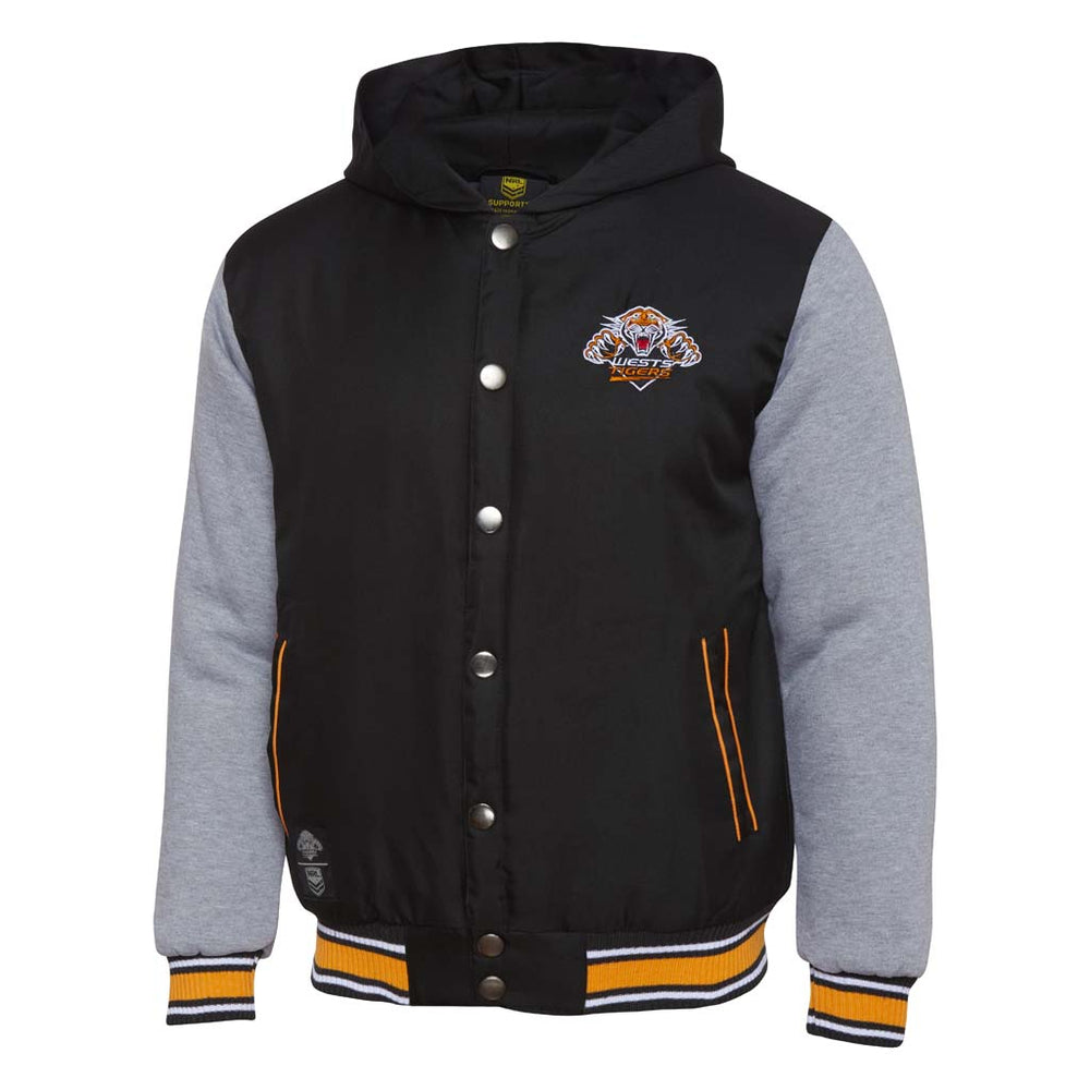 Wests Tigers 2018 Varsity Jacket - Youth