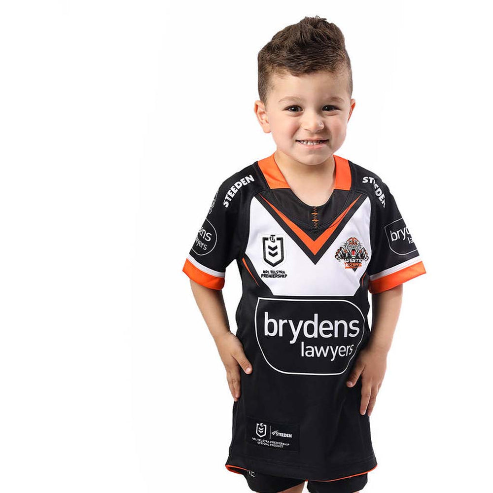 Wests Tigers 2021 Home Jersey - Youth