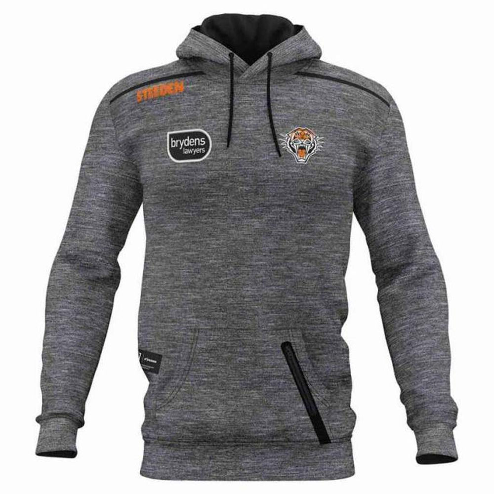 Wests Tigers 2021 Player Fleece Hoodie - Youth