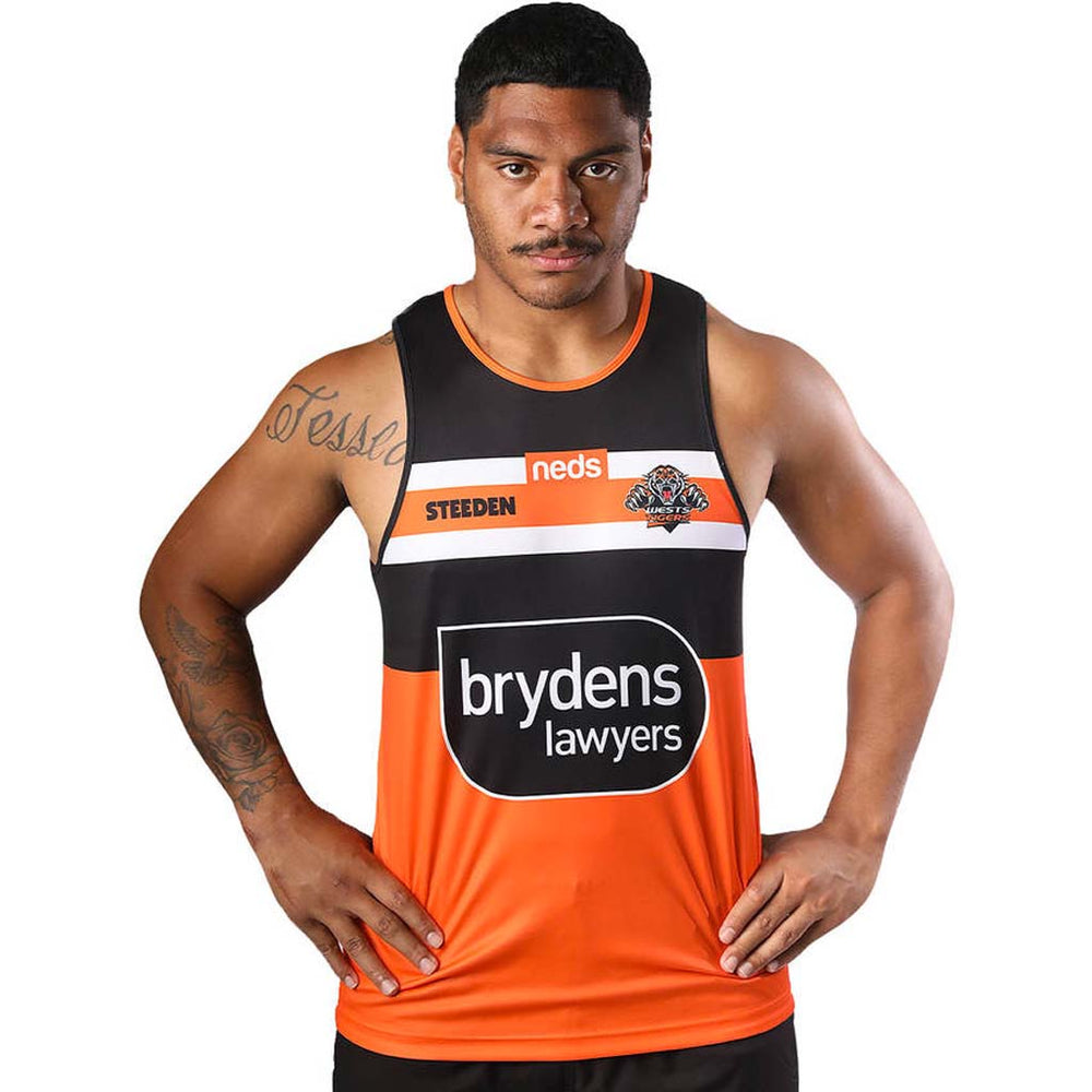 Wests Tigers 2021 Training Singlet