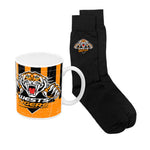 Wests Tigers Heritage Mug and Socks Pack