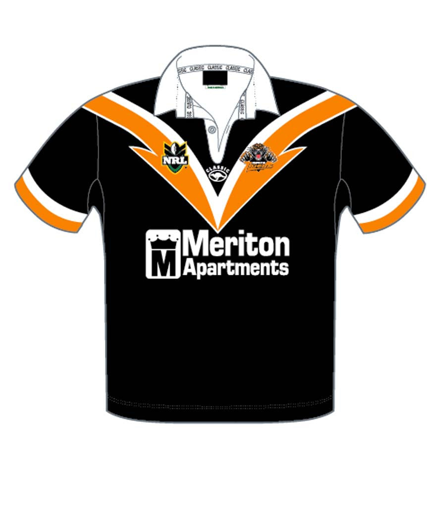 buy online 0e11f c61d1 Wests Tigers 2000 Retro Jersey