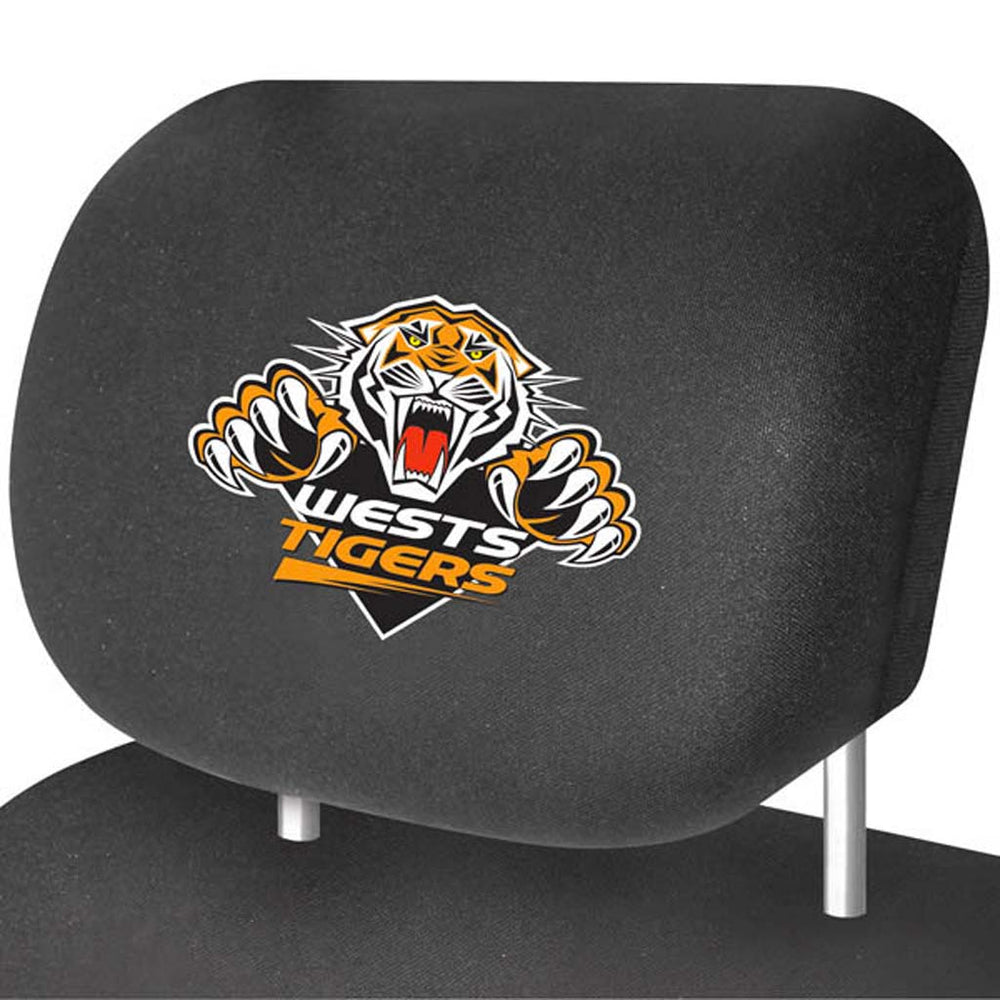 Wests Tigers Head-Rest Covers