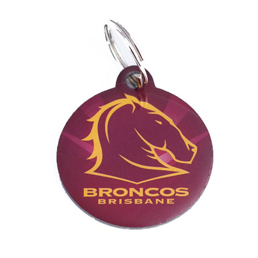 Brisbane Broncos Pet ID Tag
