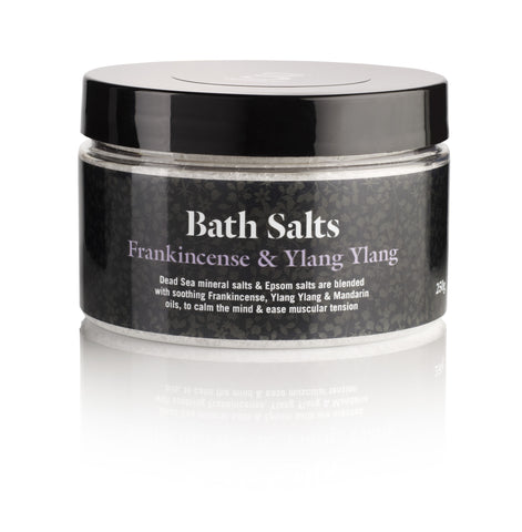 Frankincense & ylang ylang bath salts