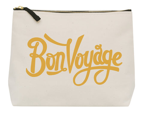 """Bon voyage"" wash bag 'hers'"