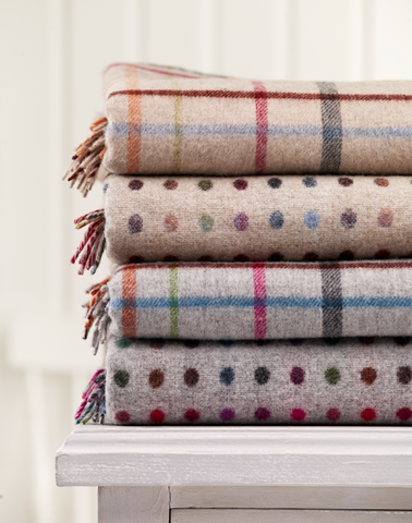 The full collection - cosy throw package (one of each design)