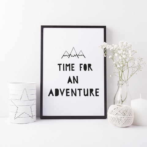"""Time for an adventure"" print (A4/A3)"