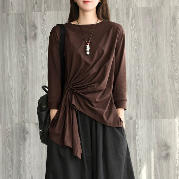 women-cotton-tops-long-sleeves