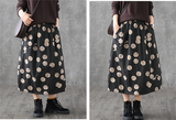 Plaid Casual Cotton loose fitting Women's Skirts