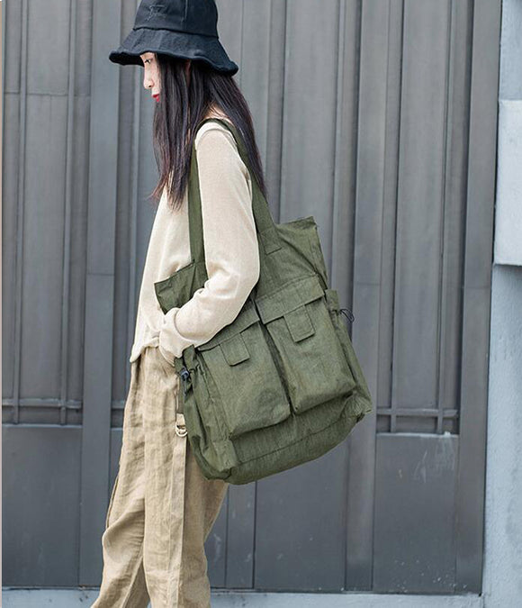 Large Casual Simple Women Travel Backpack Shoulder Bag