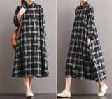dresses women summer check dresses